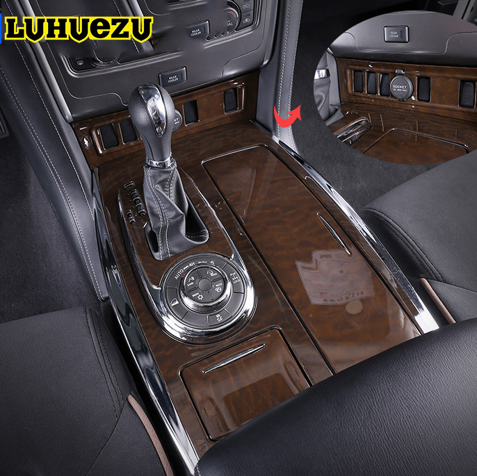 25pcs car wooden dash board cover interior panels for nissan patrol y62 armada accessories 2016. Black Bedroom Furniture Sets. Home Design Ideas