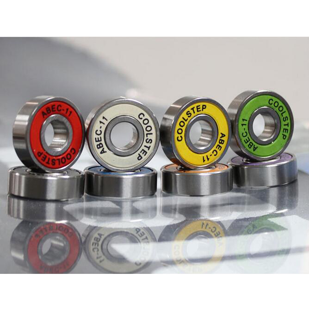 8Pcs ABEC 11 High Speed Anti-Slip Inline Skate Scooter Bearings Skateboard Longboard Bearings