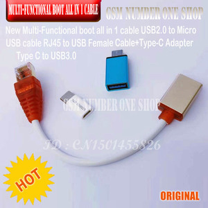 Image 4 - マイクロ usb RJ45 多機能 1 ケーブルですべてのクアルコム edl/dfc/9008 モードサポート高速充電 mtk/spd ボックスタコボックス