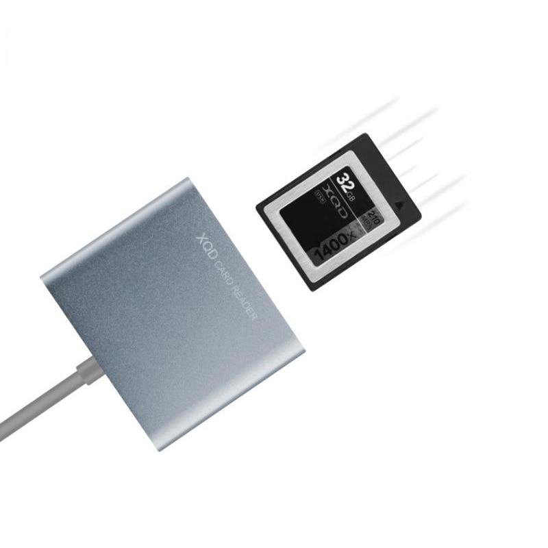 BaseQi MRW-E80 compatible USB3.0/2.0 XQD Carte dédié haute-vitesse Lecteur de Carte - 2