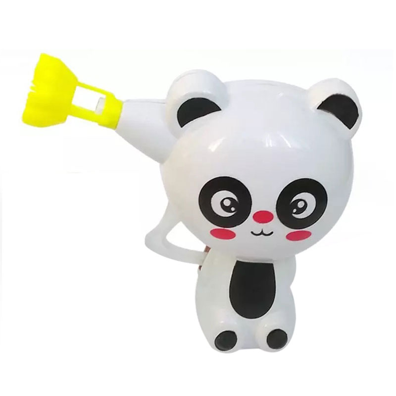 Kids Cartoon Animal Model Soap Bubble Gun Blower Machine Outdoor Toy Gift
