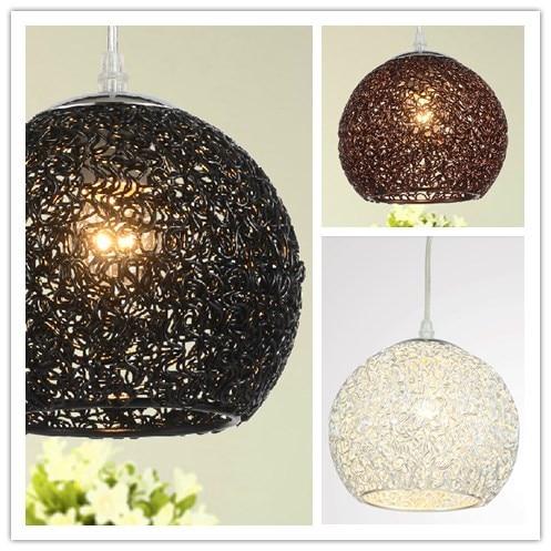 Aliexpress Buy Modern Simple Aluminum wire ball Chandelier – Brown Chandelier