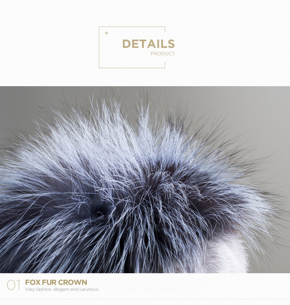 fur woman winter hats PCM012 (5)