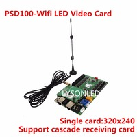 Novastar PSD100 Wifi Asynchronous WIFI LED Video Card Support 1/32 Scan Indoor LED Video Display Screen Single card 320x240 Dots