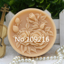 New Product!!1pcs Flowers (zx316) Food Grade Silicone Handmade Soap Mold Crafts DIY Mould