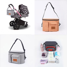 Waterproof Diaper Bag For Baby Stuff Stroller Pram Hanging Carriage Storage Organizer Bolso Maternal for Care