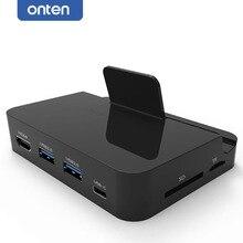 Tipo C C Estación Del Muelle Del Cargador del USB a HDMI TV + USB 3.0 + Lector de Tarjetas de Adaptador de Vídeo para Samsung galaxy S8 más LG G5 G6