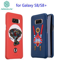 For Samsung Galaxy s8 Case NILLKIN Brocade Chinese style case For Galaxy s8 Plus S8+ Fashion Embroidery PU Leather Phone Case