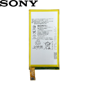 Sony 100% Original 2600mAh LIS1561ERPC Battery For Sony Xperia Z3 Compact Z3c mini D5803 D5833 For C4 E5303 E5333 E5363 E5306 original ips lcd for sony z3 compact d5803 d5833 display touch screen digitizer sensor for xperia z3 mini assembly with frame