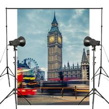 150x220cm Dusk UK Big Ben Photography Background London Architectural Landscape Backdrop Studio Props Wall