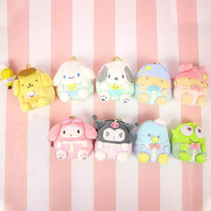 Plush Purses Cinnamoroll Stuffed Twin-Stars Kids My Melody Cartoon Bags Gift Dog Soft
