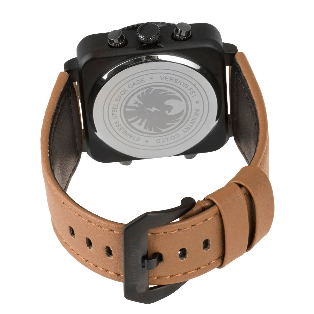 INFANTRY Men Sports Watches Military Nylon Strap Quartz Digital - Herrklockor - Foto 3