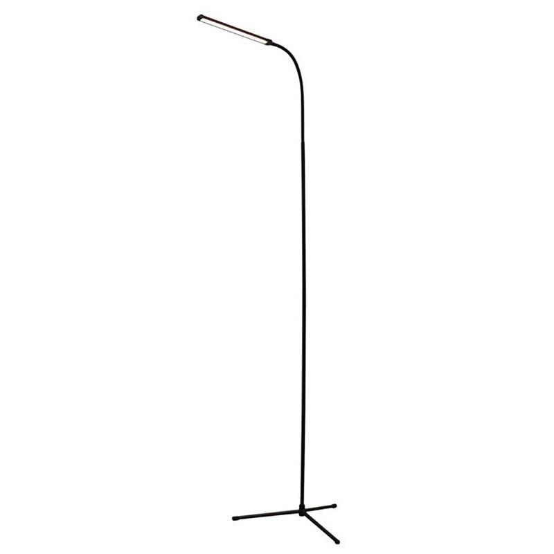 72 LEDs Floor lamp 2 Level Dimmable USB Standing Reading Light Stable Three legged Base Floor