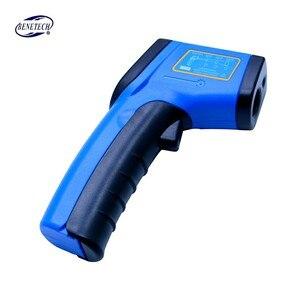 Image 3 - Digital Laser Non contact infrared thermometer GM321  50~380C ( 58~716F) 0.1 1.0 Adjustable IR Laser Point Gun Pyrometer