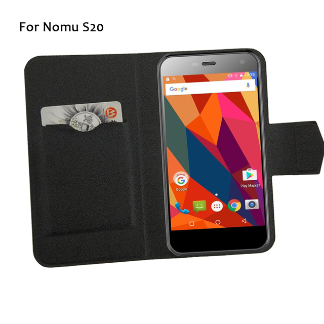 5 Colors Hot! Nomu S20 Phone Case Leather Cover,Factory Direct Fashion Luxury Full Flip Stand Leather Phone Cases