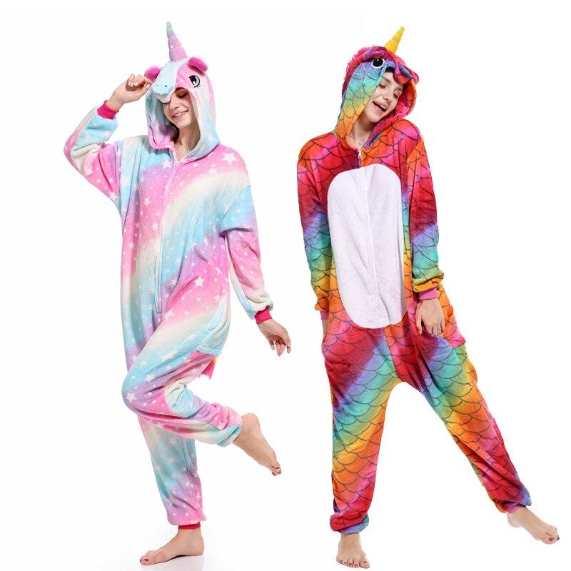 c315617346 Mujeres pijama de franela de panda de dibujos animados Cosplay adulto  Onesie para adultos pijamas de animales adultos unicornio pijama de  invierno mono
