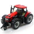 Feliz granjero tractor Diecast Metal de coches de juguete con música ligera simulación coche vehículo preferido del niño modelo de juguete de regalo para el muchacho tractor