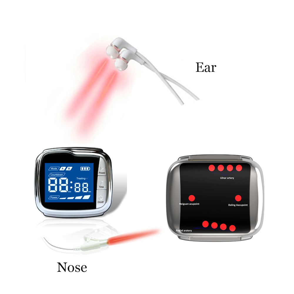 Lastek laser medical physiotherapy equipment tinnitus rehabilitation treatment hearing loss laser watch for tinnitus
