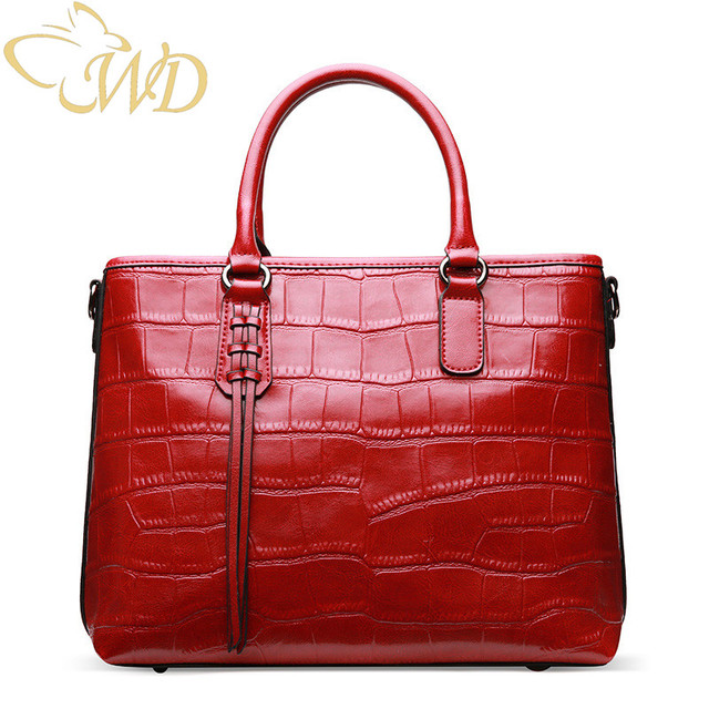 China Bag Factory Whole Crocodile Pattern Leather Female Shoulder Wild Diagonal Package Las