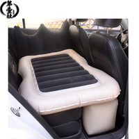 Flocking car bed Automotive interior supplies car travel bed Inflatable bed Car travel mattress Car Back Seat Cover