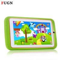 FUGN 7 zoll Original Kinder Tabletten Android PC Tabelt Quad Core 8 GB ROM 16 GB TF Karte Dual Kameras mit Cartoon Silikonkasten 8 9,7