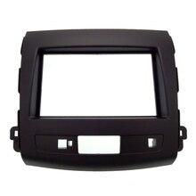 2Din Autoradio Fascia Per Mitsubishi Outlander 2008-2012 Auto Pannello di Interfaccia Stereo In Dash Mount Kit Telaio