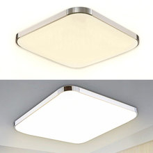 Ultra thin Led Ceiling Light for Living Room Lamp Crystal Lights Indoor Warm Cool White 12W/16W/24W