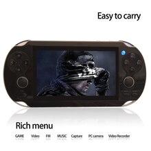 Çift Rocker 4.3 inç 8 GB taşınabilir oyun oyuncu el oyun konsolu destek TV-Out kamera video müzik ile yüzlerce oyunları