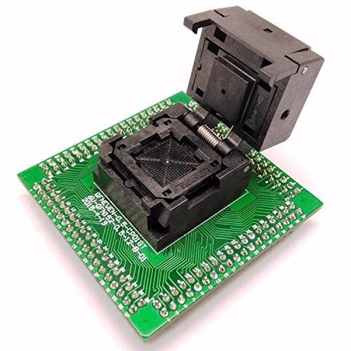 QFN16 MLF16 Burn in Socket IC Test Socket IC550-0164-005-G Pitch 0.5mm Chip Size 3*3 Flash Adapter Clamshell Programming Socket rt8549lgqw rt8549l qfn16