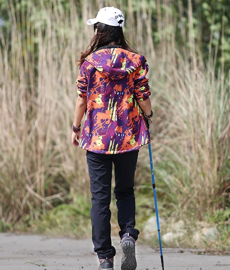 Hiking pants AD021 Model Show 4