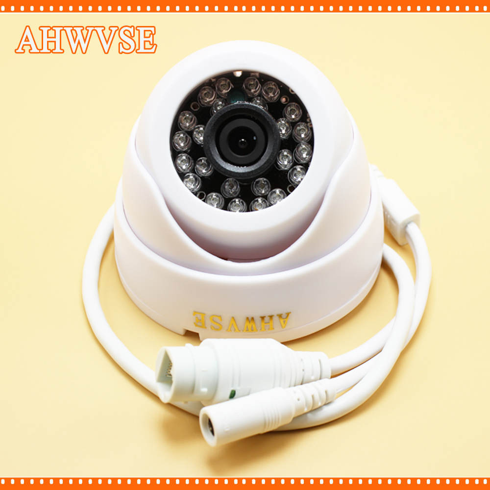 Wide View 2.8mm H.264 Full HD 1080P 2Megapixel IP Camera IR Night Vision Indoor Dome Security CCTV POE Camera Onvif XMEYE P2P h 264 mini 1 0mp dome ip camera 720p cctv security onvif 12pcs ir indoor outdoor ir cut cam night vision p2p xmeye app view