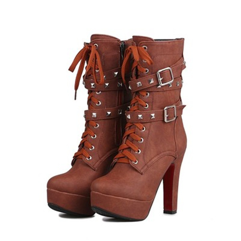 Popular Red Combat Boots Womens-Buy Cheap Red Combat Boots Womens ...