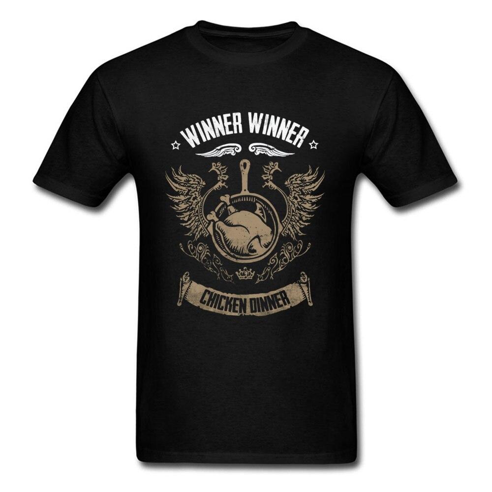 df337425ca PUBG Winner Winner Chicken Dinner Vintage Tshirt Men's High Quality Cotton Tops  Tees Meat Mortal Kombat Khabib T Shirt Man for sale in Pakistan