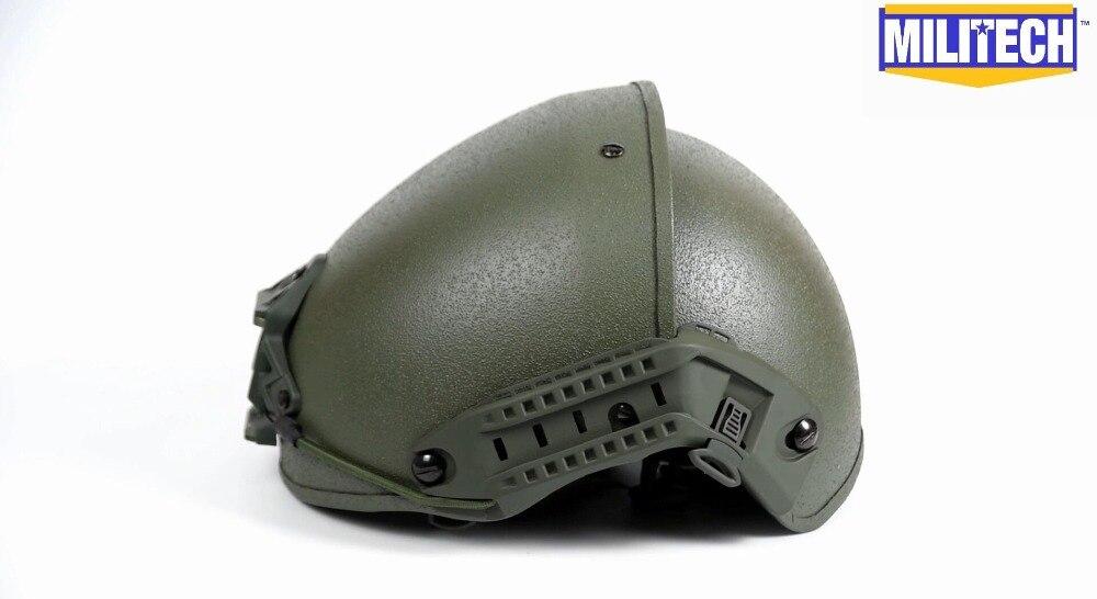 Commercial Video--Militech Airframe OD H-Nape Liner Helmet Commercial Video
