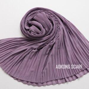 Image 4 - Hijabs foulard mural en mousseline