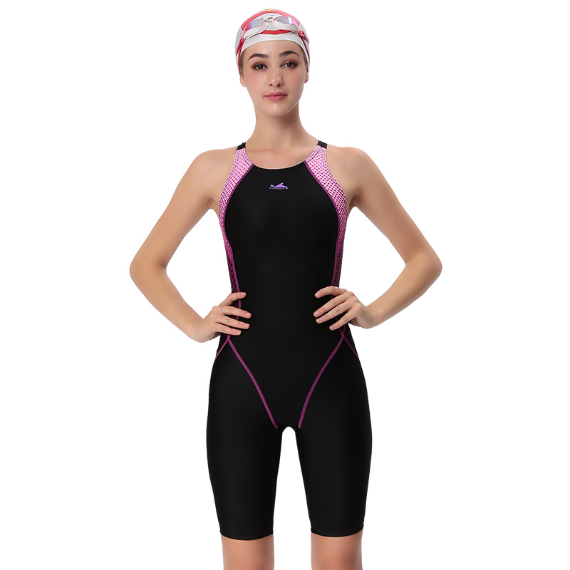 YINGFA swimwear women one piece competitive swimsuit girls sport sharkskin racing competition swimming suits female bathing suit star printed women one piece swimsuit professional sports swimwear racing competition female bodysuit quick dry bathing suit