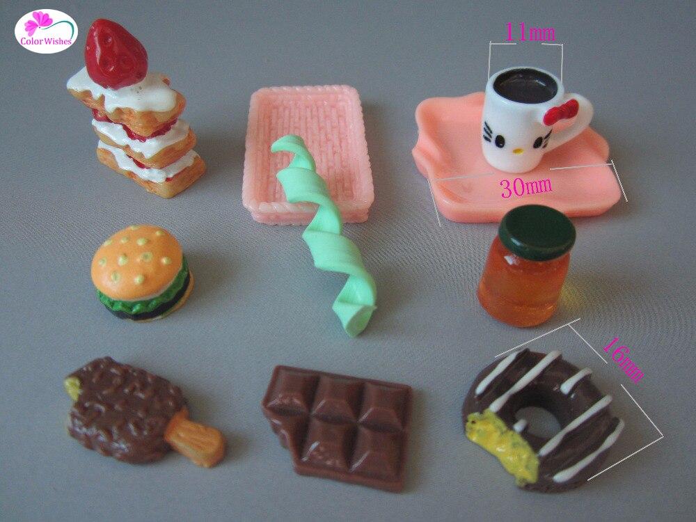 font b Doll b font house font b accessories b font tableware food cake milk