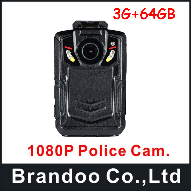 Police Body Worn Camera Ambarella A12 Full HD 1080P 2.0inch LCD Body Cam 64GB for security guard and police use