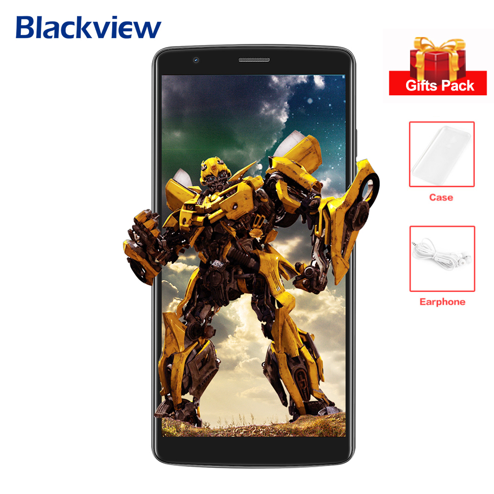 """BLACKVIEW A20 3G Smartphone 5.5"""" IPS Screen MTK6580 Quad Core 1.3GHz 1GB+8GB Android 8.0 Dual Back Cams Mobile Phone 3000mAh"""