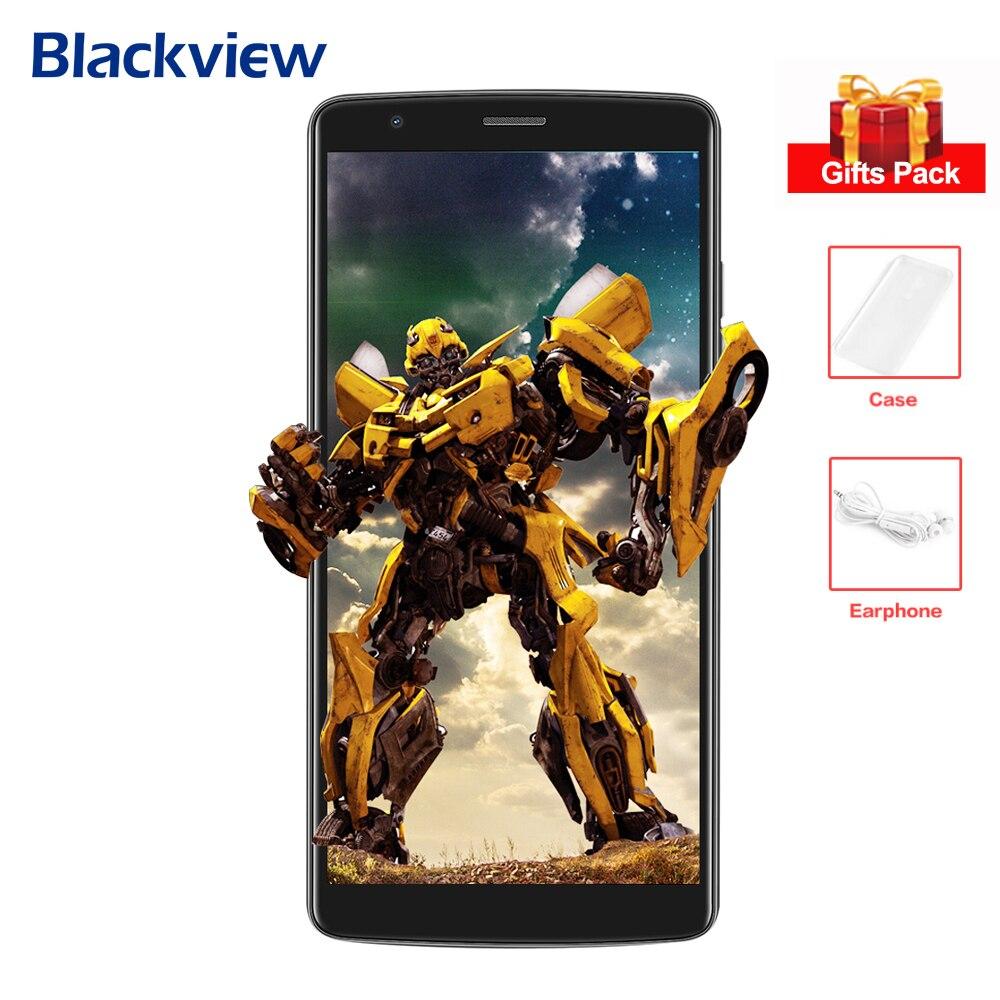 BLACKVIEW A20 3G Smartphone 5,5 ''IPS pantalla MTK6580 Quad Core 1,3 GHz 1 GB + 8 GB Android 8,0 Dual Back cámaras teléfono móvil 3000 mAh