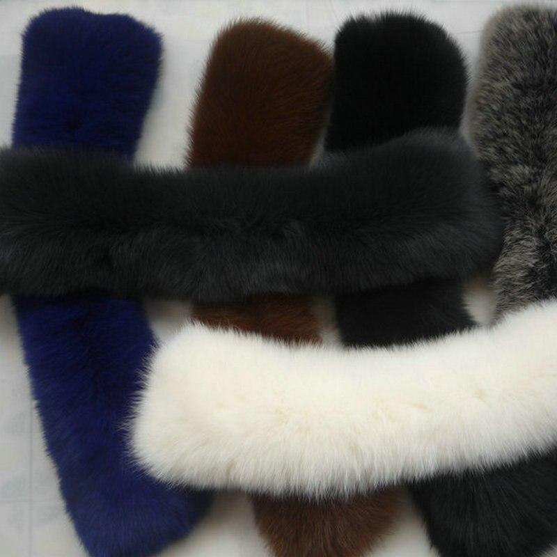 Livraison gratuite colliers de fourrure foulards homme et femme le col de fourrure de renard 22 couleurs femmes écharpe de fourrure col spécial