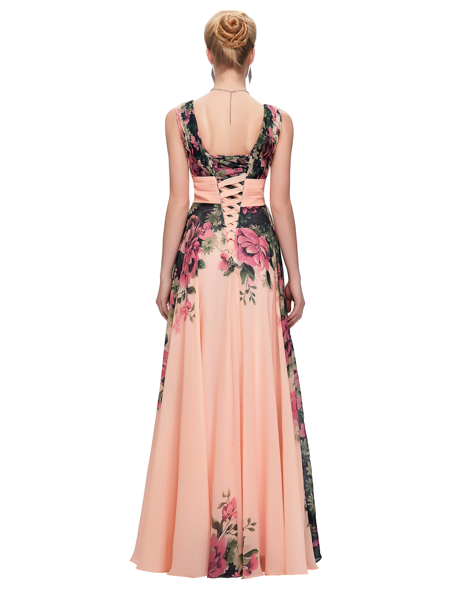 2481344e5107 Nobility Floral Wedding/Evening/Party/Prom Formal Long Dress Gown Plus Size  Hot