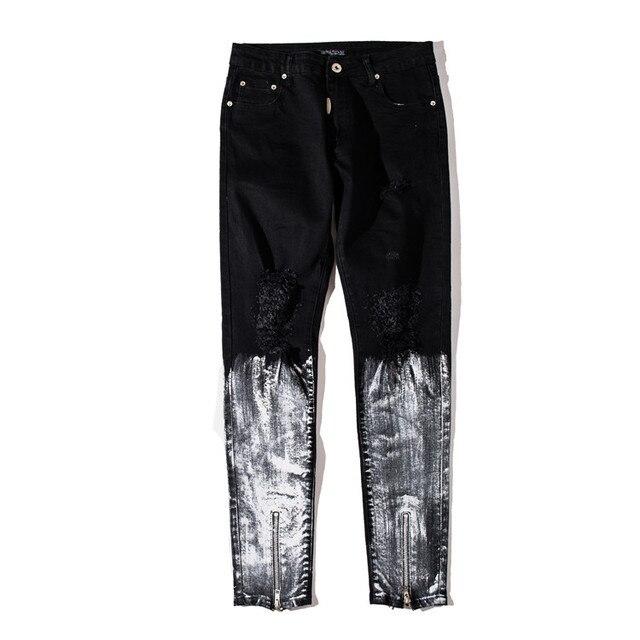 Distressed Skinny Jeans 1
