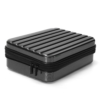 E58 RC Quadcopter Selfie Drone FPV Accessories Hard Shell Waterproof Carrying Case Suitcase Storage Box Handbag Black 1
