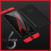 Ultra Slim Shockproof Bumper Case Cover Frosted Hard Hybrid 3in1 For IPhone 6 6s 7 7