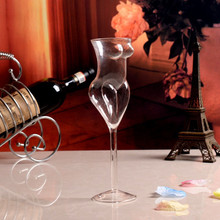 Cocktail Bottles Human Body Shape CUP Red  glass Creative Glass Cup Double Glazing