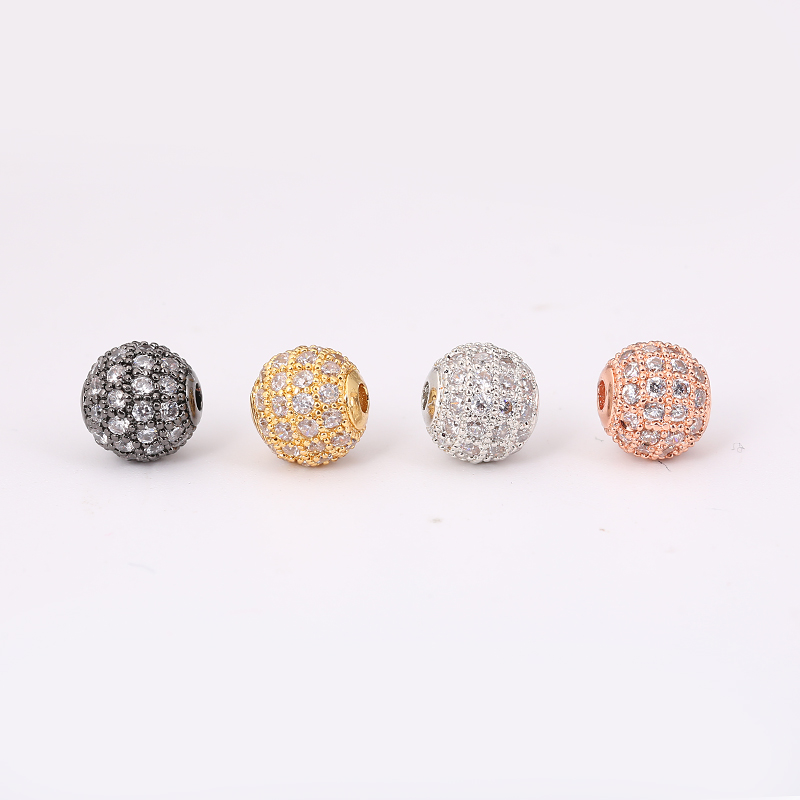 Jewelry & Accessories Beads Independent Hot Sale 50pcs 10mm Dutch Purple Shamballa Beads Crystal Disco Ball Beads Shambhala Spacer Beads Shamballa Bracelet Crystal Clay
