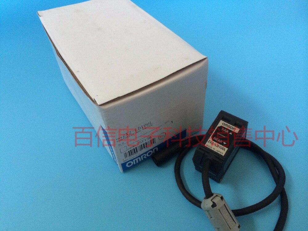 New Genuine Laser Displacement Sensor ZX2-LD100L