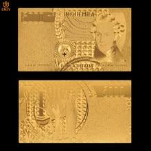 Nowe produkty 2018 włochy 5000 Lira złota folia rachunki fałszywe pieniądze kolekcje banknotów papierowych i prezenty biznesowe