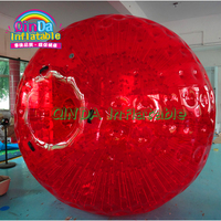 Customized Color Inflatable Zorb Ball Super quality inflatable colorful grass zorb ball